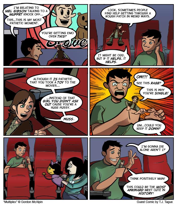 Multiplex #590: Guest Strip by TJ Tague