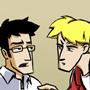 <i>Rob and Elliot</i> guest strip