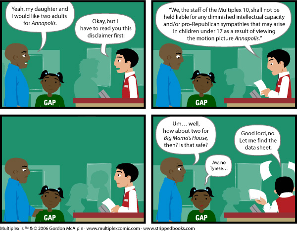 Multiplex #41: Parental Advisory