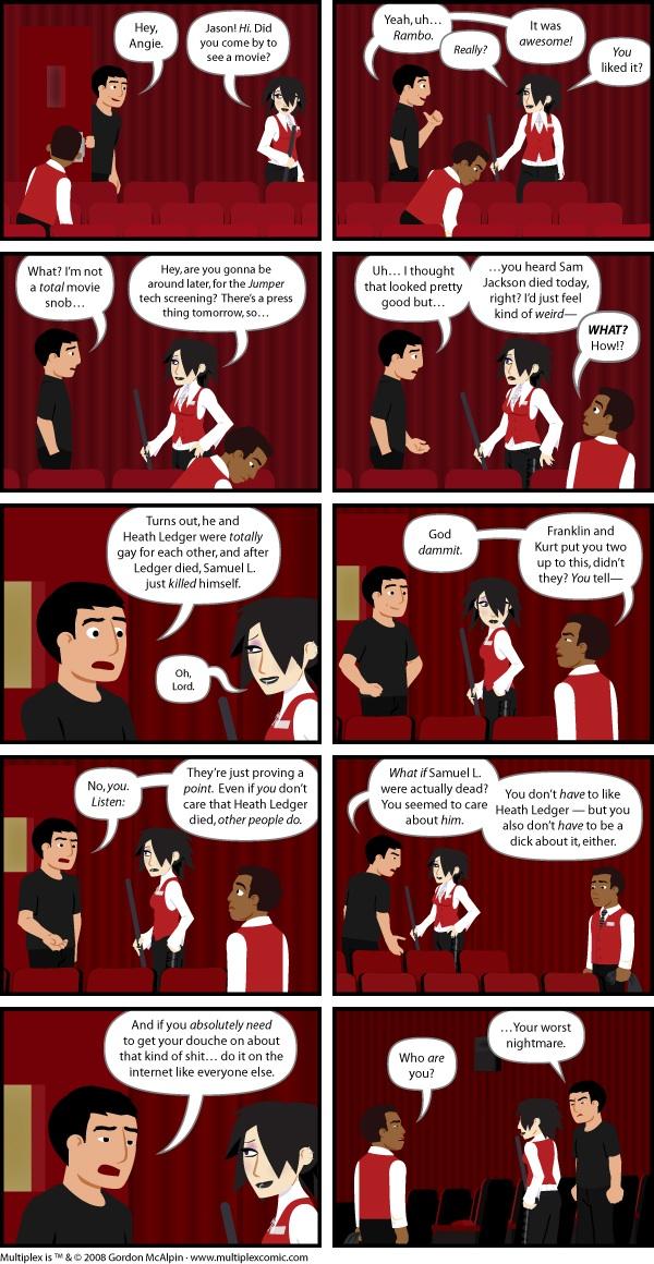 Multiplex #203: Ledgerdemain, Part Five