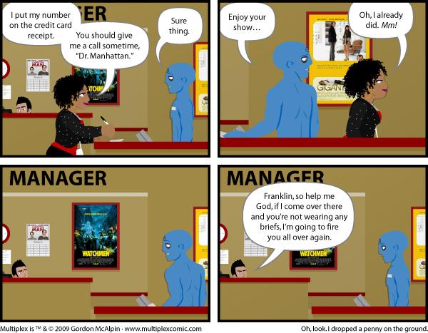Multiplex #337: Blue Man Grope