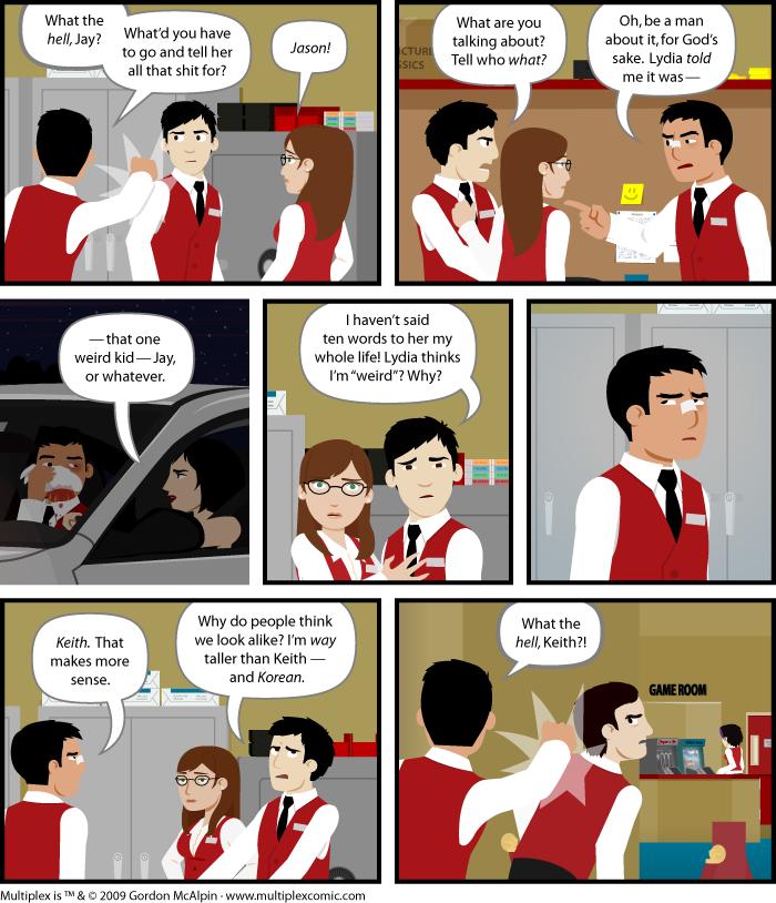 Multiplex #406: Mistaken Identity