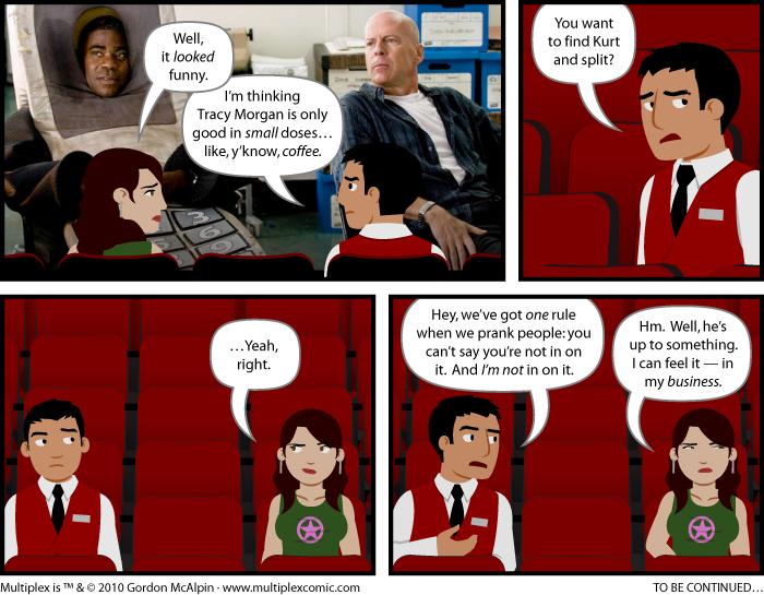 Multiplex #449: Crazies for You, PartOne