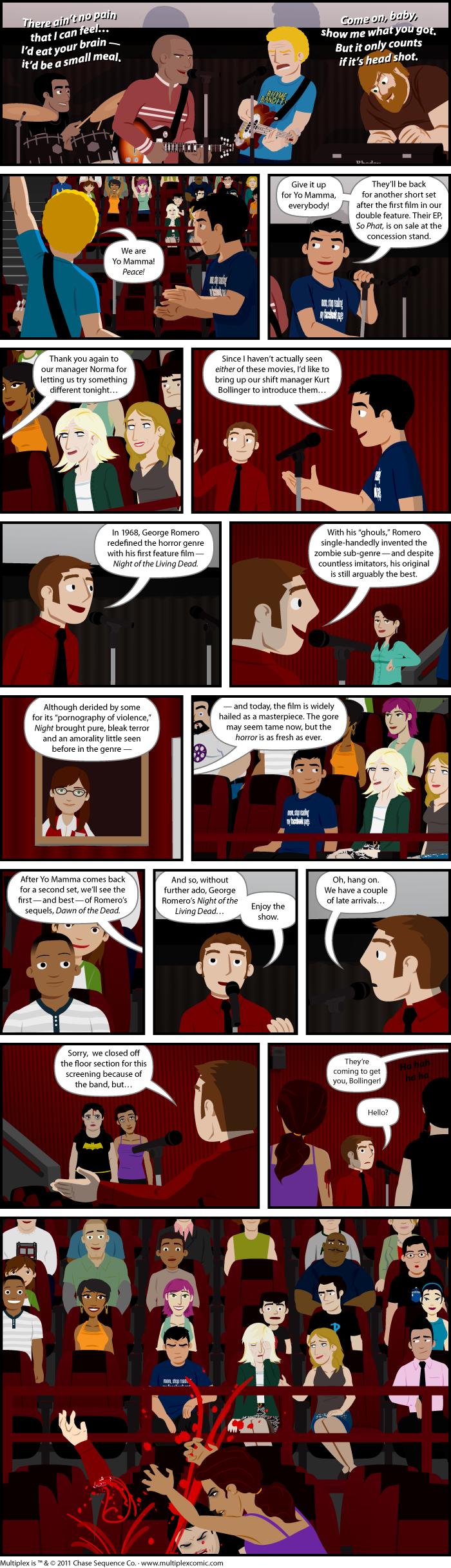 Multiplex #606: Theatrics