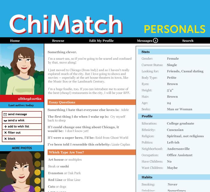 Multiplex #707: Sophia's Profile Page