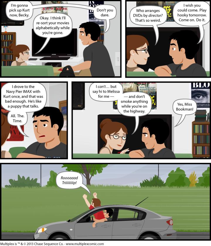 Multiplex #848: Drive