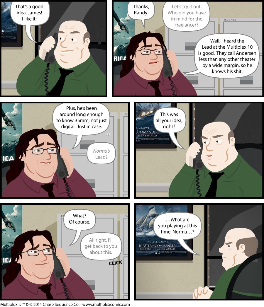 Multiplex #885: Suspicion