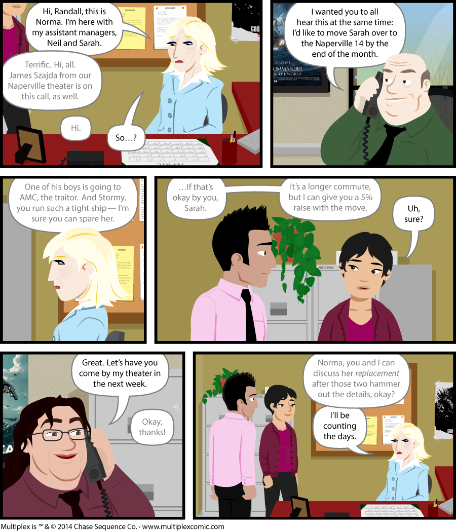 Multiplex #903: Conference Call