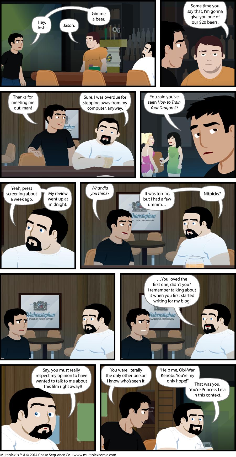 Multiplex #934: The Criterion